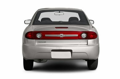 Rear Profile  2005 Chevrolet Cavalier