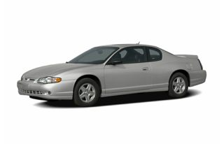 3/4 Front Glamour 2005 Chevrolet Monte Carlo