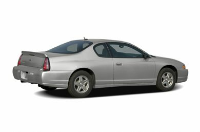 3/4 Rear Glamour  2005 Chevrolet Monte Carlo