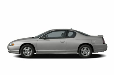 90 Degree Profile 2005 Chevrolet Monte Carlo
