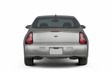 Rear Profile  2005 Chevrolet Monte Carlo