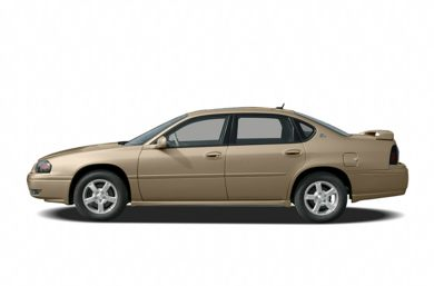 90 Degree Profile 2005 Chevrolet Impala