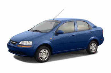 3/4 Front Glamour 2005 Chevrolet Aveo