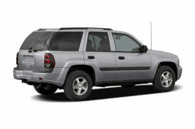 3/4 Rear Glamour  2005 Chevrolet TrailBlazer