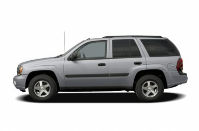 90 Degree Profile 2005 Chevrolet TrailBlazer