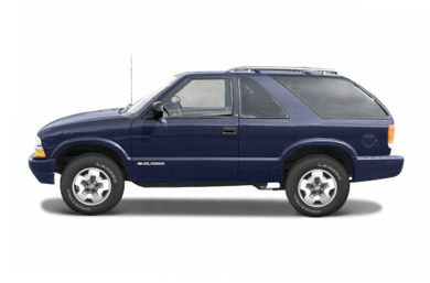 90 Degree Profile 2005 Chevrolet Blazer