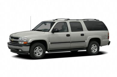3/4 Front Glamour 2005 Chevrolet Suburban 2500