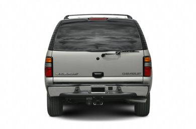 Rear Profile  2005 Chevrolet Suburban 2500
