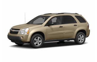 3/4 Front Glamour 2005 Chevrolet Equinox