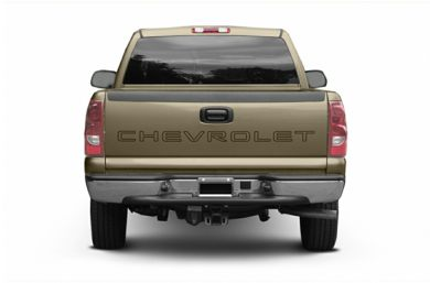 Rear Profile  2005 Chevrolet Silverado 1500