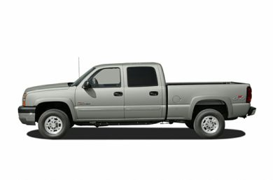 90 Degree Profile 2005 Chevrolet Silverado 3500