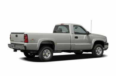 3/4 Rear Glamour  2005 Chevrolet Silverado 2500HD