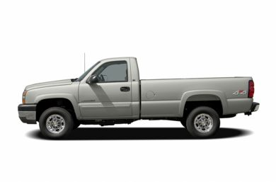 90 Degree Profile 2005 Chevrolet Silverado 2500HD