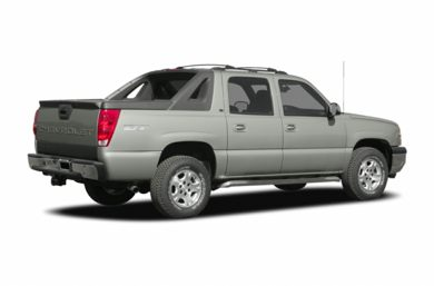 3/4 Rear Glamour  2005 Chevrolet Avalanche 1500
