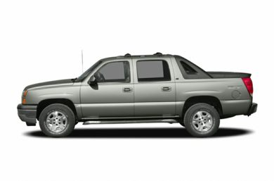 90 Degree Profile 2005 Chevrolet Avalanche 1500