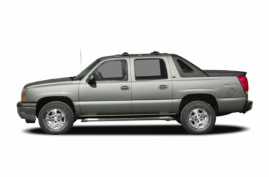 90 Degree Profile 2005 Chevrolet Avalanche 2500