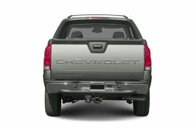 Rear Profile  2005 Chevrolet Avalanche 1500