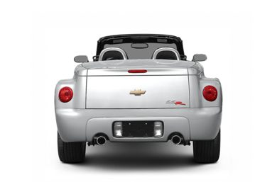 Rear Profile  2005 Chevrolet SSR