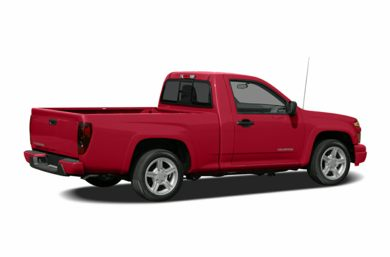 3/4 Rear Glamour  2005 Chevrolet Colorado