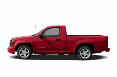 90 Degree Profile 2005 Chevrolet Colorado