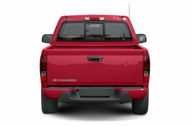 Rear Profile  2005 Chevrolet Colorado