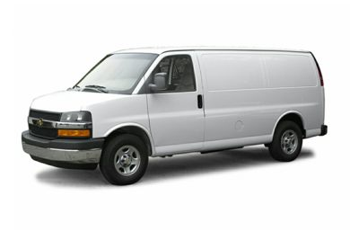 3/4 Front Glamour 2005 Chevrolet Express
