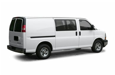 3/4 Rear Glamour  2005 Chevrolet Express