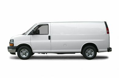 90 Degree Profile 2005 Chevrolet Express