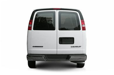 Rear Profile  2005 Chevrolet Express