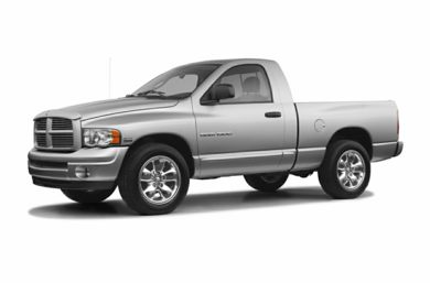 3/4 Front Glamour 2005 Dodge Ram 1500