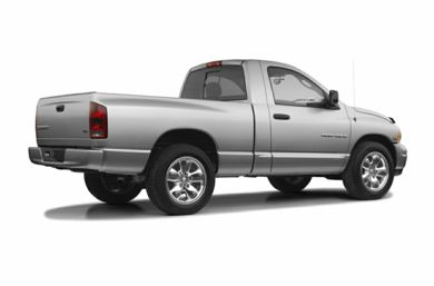 3/4 Rear Glamour  2005 Dodge Ram 1500