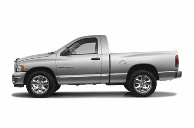 90 Degree Profile 2005 Dodge Ram 1500