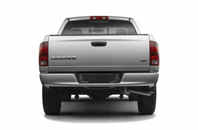 Rear Profile  2005 Dodge Ram 1500
