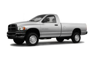3/4 Front Glamour 2005 Dodge Ram 2500