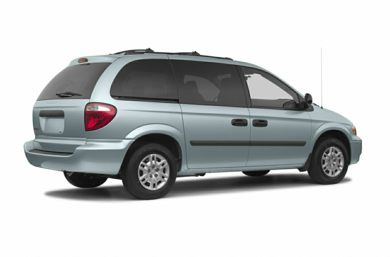 3/4 Rear Glamour  2005 Dodge Caravan