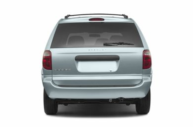 Rear Profile  2005 Dodge Caravan