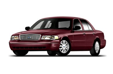 3/4 Front Glamour 2005 Ford Crown Victoria