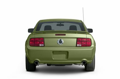 Rear Profile  2005 Ford Mustang