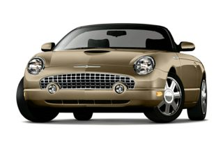 3/4 Front Glamour 2005 Ford Thunderbird