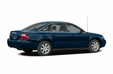 3/4 Rear Glamour  2005 Ford Five Hundred