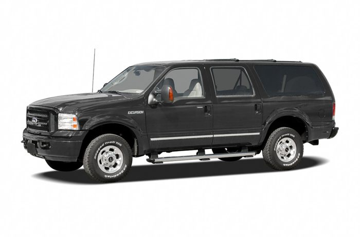 2005 ford excursion specs safety rating mpg carsdirect. Black Bedroom Furniture Sets. Home Design Ideas