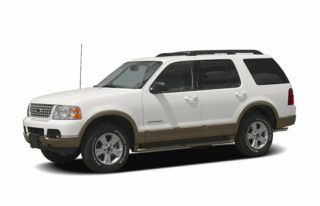 3/4 Front Glamour 2005 Ford Explorer