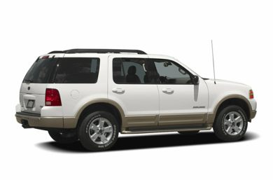 3/4 Rear Glamour  2005 Ford Explorer