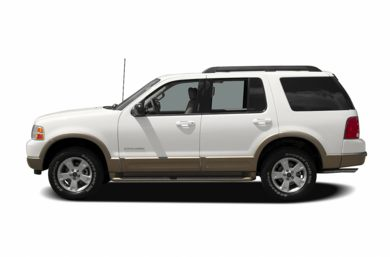 90 Degree Profile 2005 Ford Explorer