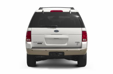 Rear Profile  2005 Ford Explorer