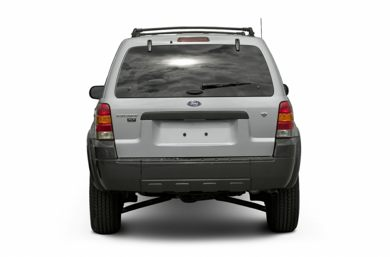 Rear Profile  2005 Ford Escape