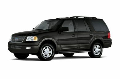3/4 Front Glamour 2005 Ford Expedition