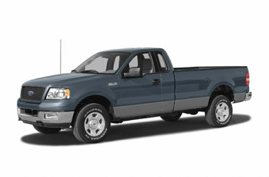 3/4 Front Glamour 2005 Ford F-150