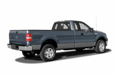 3/4 Rear Glamour  2005 Ford F-150