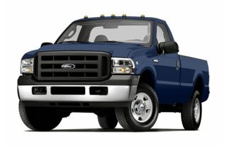 3/4 Front Glamour 2005 Ford F-250